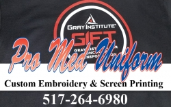 Pro Med Uniform Custom Embroidery & Screen Printing