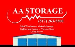 AA Mini Warehouse & Vehicle