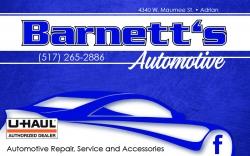 Barnett's Auto Repair